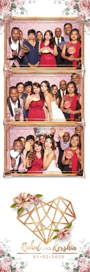 Photo Booths in Durban and KZN for hire - Instant Printing with backdrops for weddings and corporate events